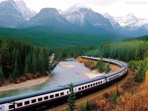trem canadá