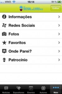 Aplicativo para iphone
