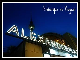 Alexanderplatz Embarque na Viagem