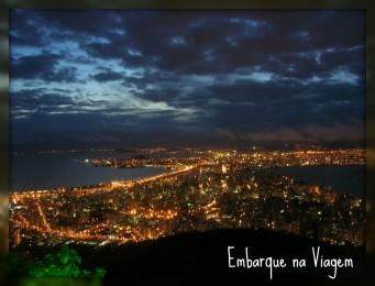 Florianópolis noturna Embarque na Viagem