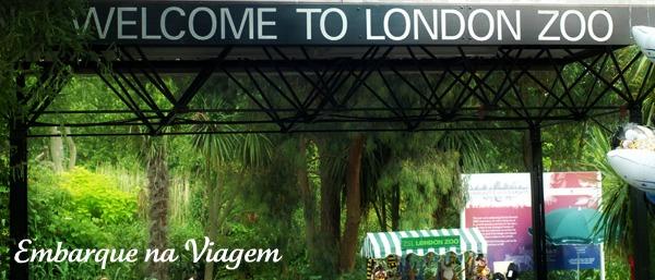 London zoo Embarque na Viagem