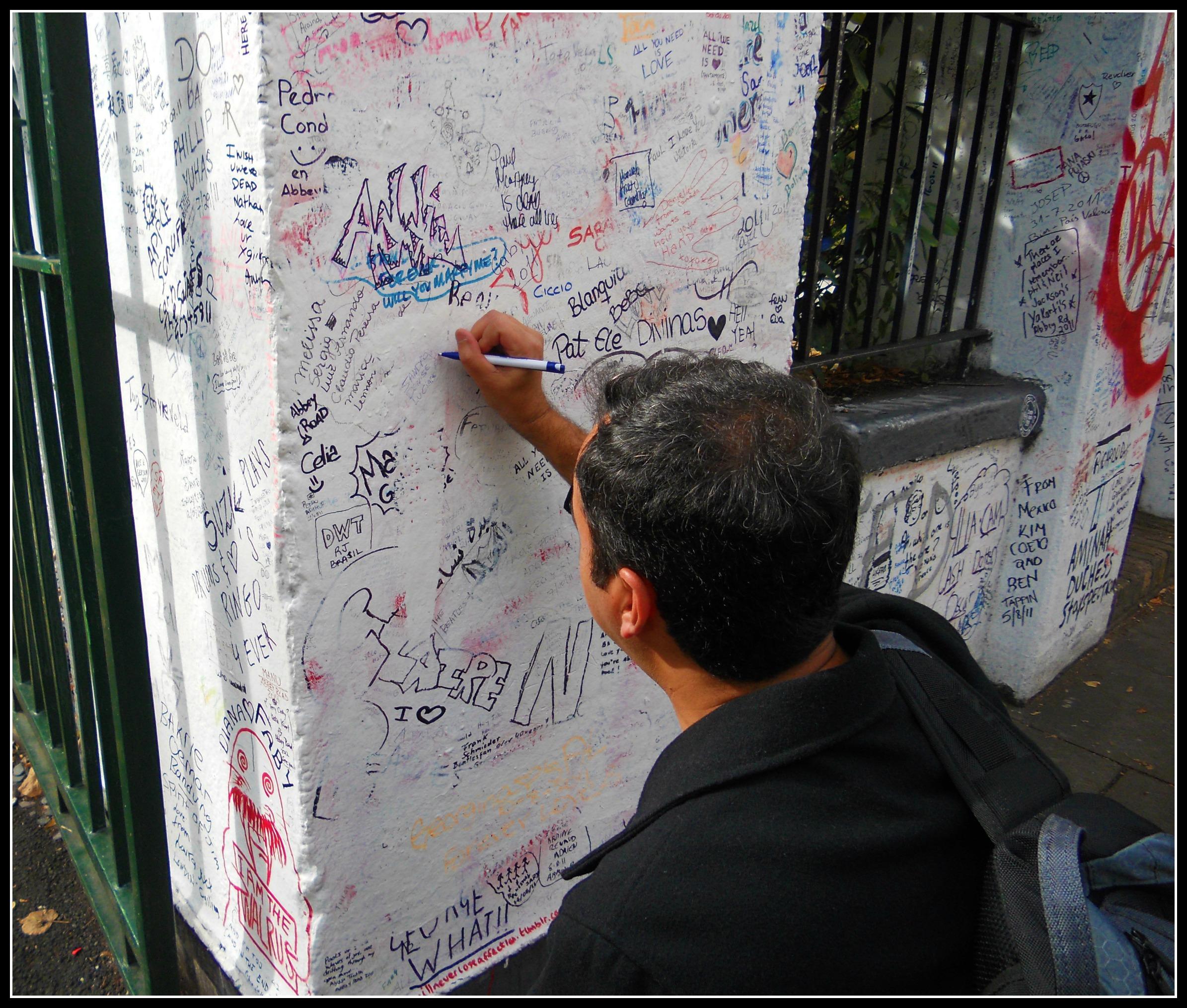 Muro Abbey Road Foto Sandro Amorelli