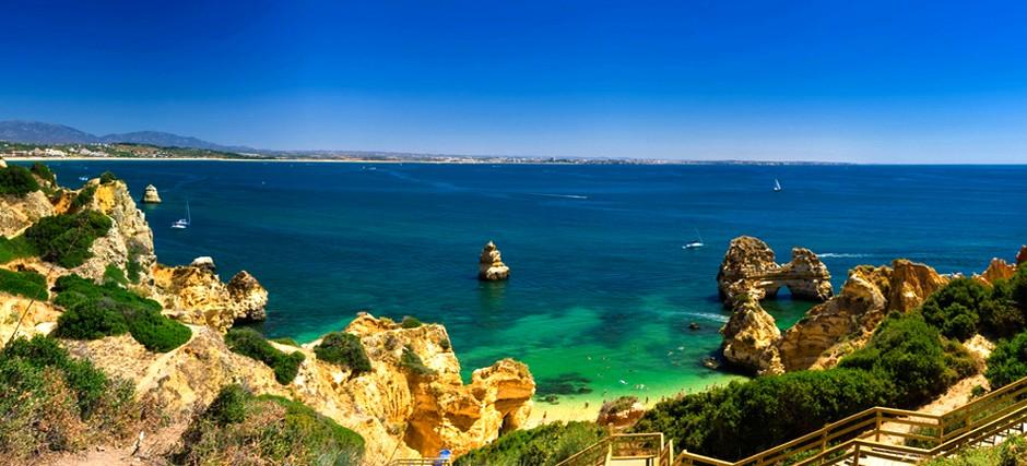 Praias de Algarve Portugal