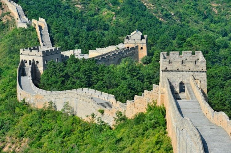 A Muralha da China países mais antigos