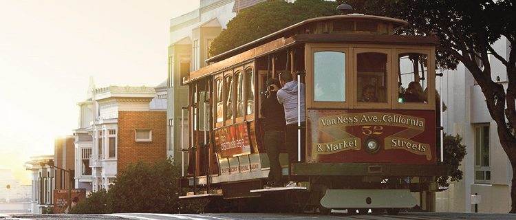 viagem para San Francisco
