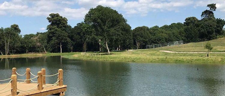 Londres transforma campo de golfe em parque público 5
