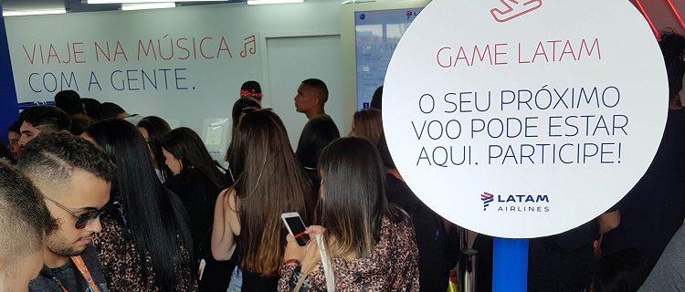 #LATAMnoRIR19: Ganhe 1 milhão de pontos Multiplus no Rock in Rio 6