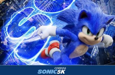 Sonic vai invadir os cinemas e as ruas do Brasil em corrida temática 8