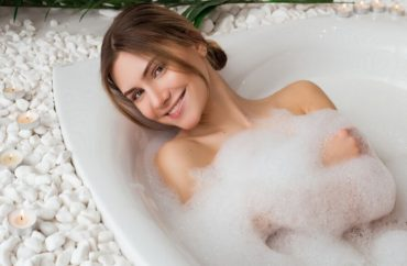 banho de espuma