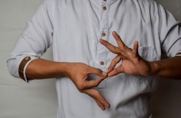língua de sinais