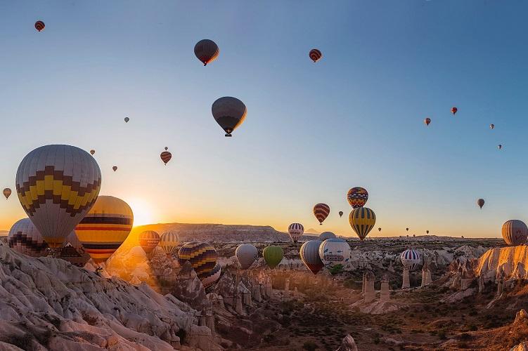 Passeios de balão na Capadócia
