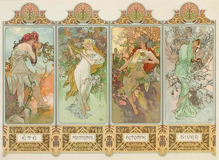Alphonse Mucha: o legado da Art Nouveau