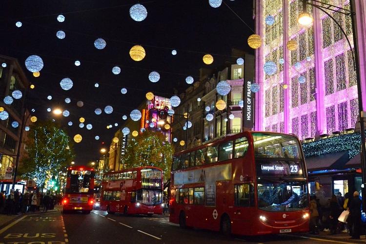 Natal em Londres - Foto: Dani pelo Mundo