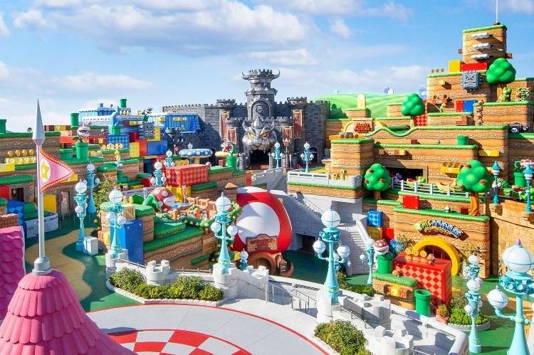 """Parque temático """"Super Mario"""""""