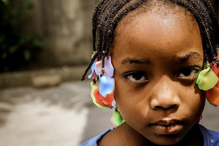 Mulheres e crianças quenianas
