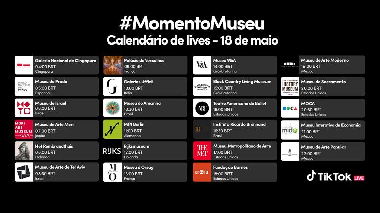 #MomentoMuseu