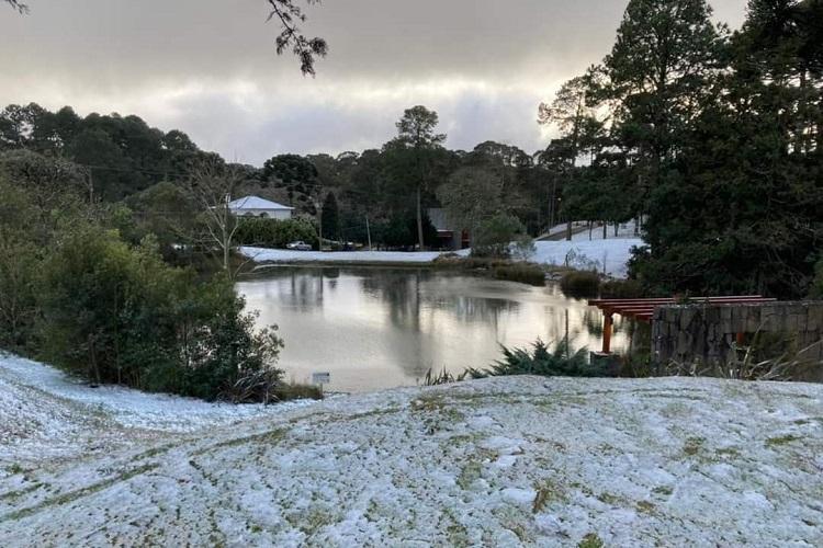 neve na região sul