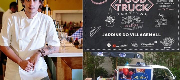 Chef doLe Vin Bistrô participa do Food Truck Festival 1
