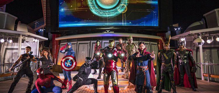 Star Wars e Marvel Day retornam aos cruzeiros Disney em 2019 1